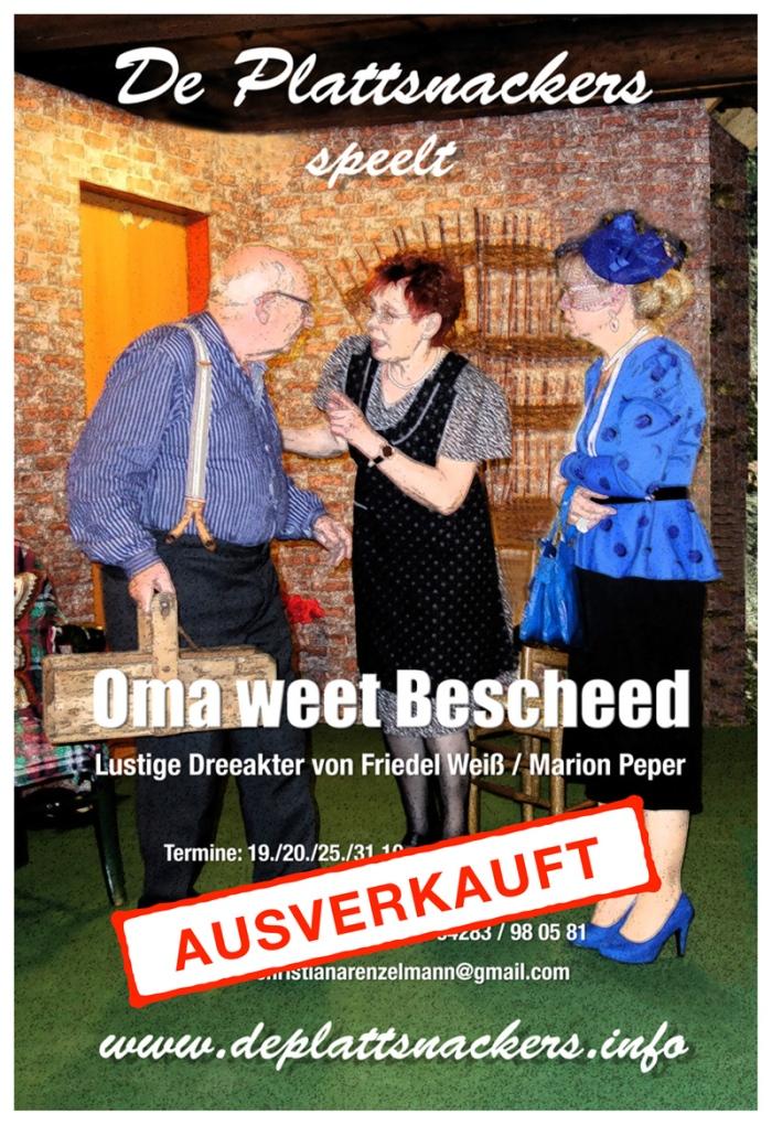 Oma-weet-Bescheed-Ausverkauft